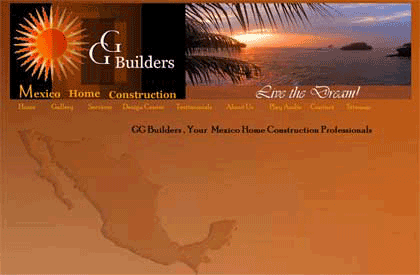 Website Design - GG Builders