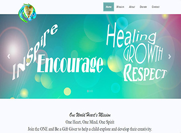 Website Design - Non Profit Organization