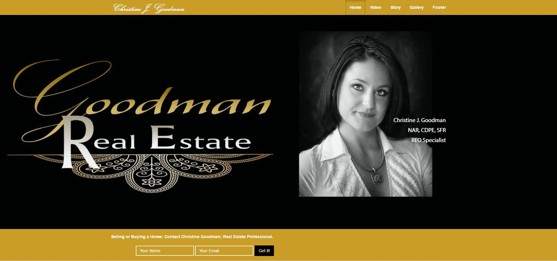 Website Design - Real Estate Broker